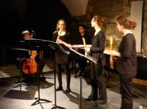 Samstag, 09.04.2016 - AUS DER ZEIT GEFALLEN - Silvia Berchtold, Maria Hänggi, Sophia Rieth, Jonas Gassmann und Alex Jellici