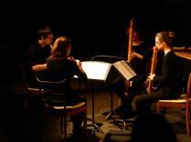 Samstag, 09.04.2016 - AUS DER ZEIT GEFALLEN - Silvia Berchtold, Maria Hänggi, Sophia Rieth und Jonas Gassmann